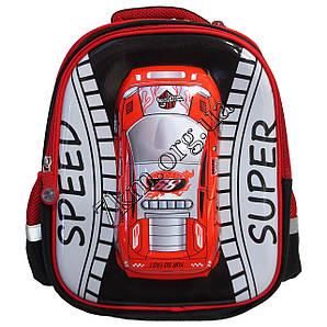"""Рюкзак детский школьный для мальчиков 3D """"Speed Super"""" 35*30"""