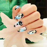Набор накладных ногтей (25шт) Memento Joyme с клеем и пилочкой