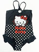 Купальник для девочек, Hello Kitty, размеры 6 лет, арт. 910-117