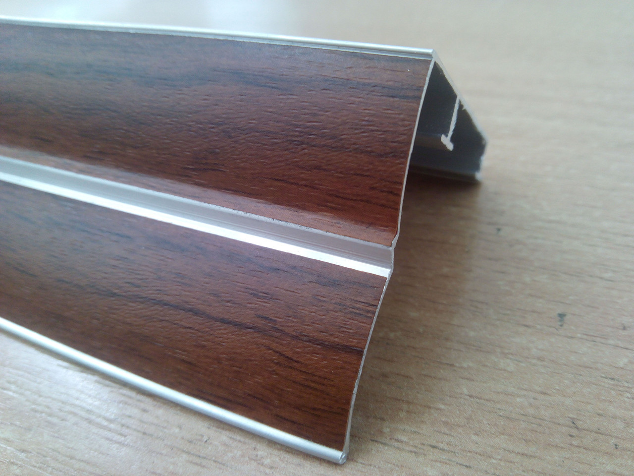 Карниз 2,5метра алюминиевый для штор и гардин, ассортимент цветов, доставка по Украине