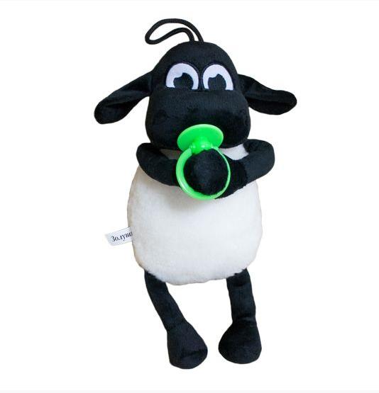 Мягкая игрушка Weber Toys Барашек Тимми 36см зеленая соска (5121)