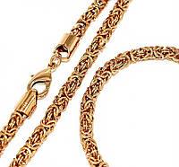 Набор: цепочка+браслет фирмы Xuping. Длинна цепочки 44,5 см, ширина 5 мм. Браслет 19,5 см. ширина 5 мм.