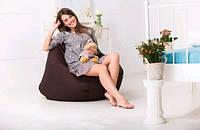 Кресло груша коричневая с эффектом отталкивания воды