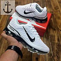 Мужские кроссовки Nike Air Max 360 🔥 (Найк Аир Макс) белые