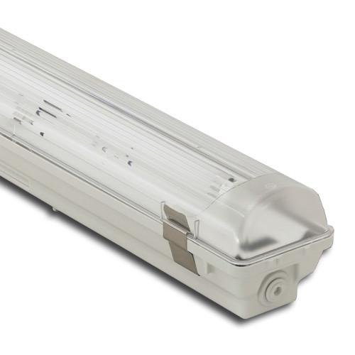 Корпус светильника Atom 771 118 1х600мм для светодиодных LED ламп T8 IP67 (ГЕРМАНИЯ), герметичный промышленный