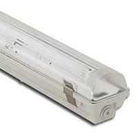 Корпус светильника Atom 771 118 1х600мм для светодиодных LED ламп T8 IP67 (ГЕРМАНИЯ), герметичный промышленный, фото 1