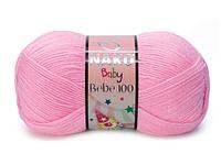 """Пряжа Nako Bebe 100 """"229"""" Детская для Ручного Вязания"""