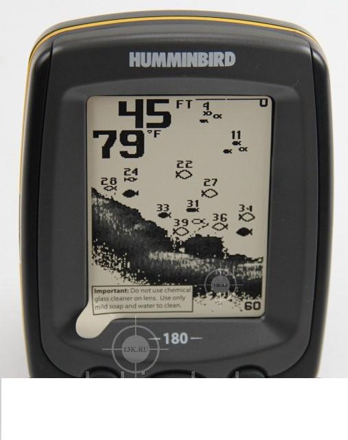 Эхолот Humminbird PiranhaMAX 180, помощник рыбака, крупный улов гарантирован