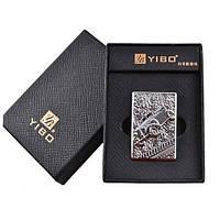 """USB зажигалка """"YIBO"""" Авто (4355)"""