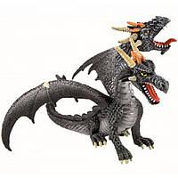 Фигурка Дракон с двумя головами металлик Bullyland (75597)