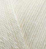 Alize Вahar (Бахар) 01 100 % мерсеризованный хлопок