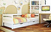 Кровать односпальная деревянная Нота