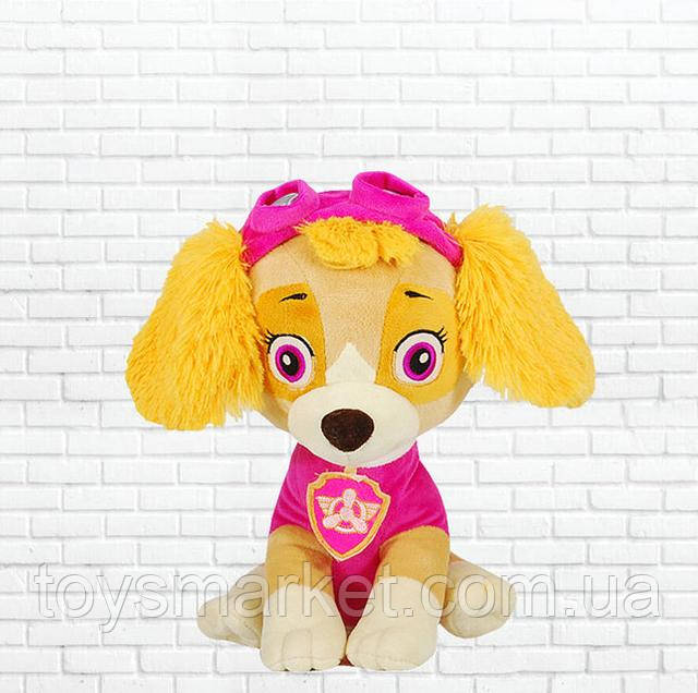 плюшевая собака скай