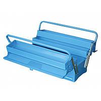Ящик инструментальный, раскладной, 3 уровня с 2 ручками