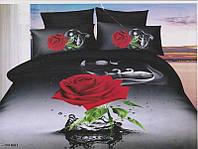 """Комплект постельного белья двуспальный евро, 3D """"Ночная романтика"""""""