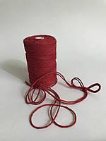 Цветная нить 100 м, декоративный шнур для упаковки, красный