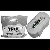 Трос буксировочный Vitol ST1009/ТР-109-8-1 (8т лента 75мм х 5,0м белый/2 крюка)