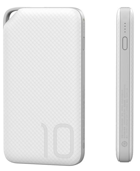 Портативний зарядний пристрій Huawei AP08Q QC3.0 - 10000 mAh Li-pol White (зовнішня зарядка для телефону)