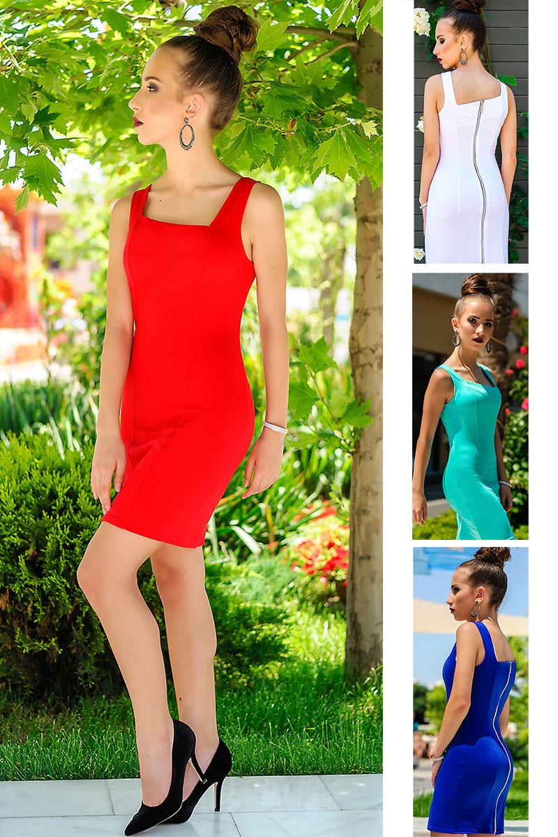 """Платье в обтяжку """"Beauty"""", 4 цвета"""