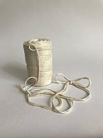 Цветная нить 100 м, декоративный шнур для упаковки, белый или молочный