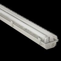 Корпус светильника Atom746 218 2х600мм для светодиодных LED ламп T8 IP65 (Германия), герметичный промышленный