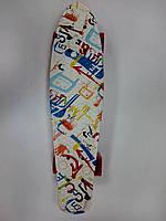 "Скейт Пени борд (Penny board) 22"" MS 0748 print-3"