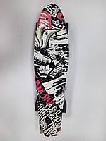 "Скейт Пени борд (Penny board) 22"" MS 0748 print-4"