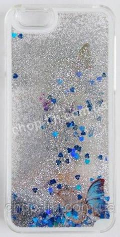 Чехол для iPhone 6 с блестками в масле, фото 2
