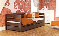 Кровать односпальная деревянная Нота плюс