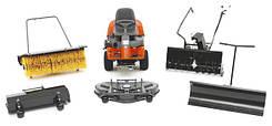 Навесное оборудование и аксессуары к тракторам