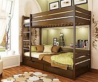 Кровать двухъярусная  деревянная Дуэт, Эстелла