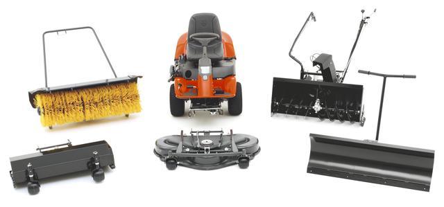 Навесное оборудование для тракторов Хускварна и McCulloch