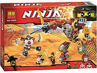Конструктор Ninja Робот спасатель Ронина 10525, фото 1
