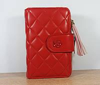 Женский кошелек melissa  красного цвета