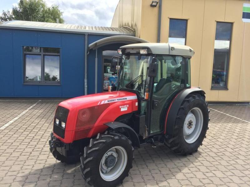 Трактор Садовый Massey Ferguson 3445 S, 2007 г (№ 1613)