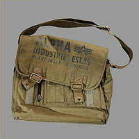 Сумка Cargo Canvas Courier Bag,olive