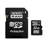 Карта памяти GoodRam 32 GB microSDHC Class 10 UHS-I U3, R: 90 Mb / s; W: 90 Mb / s, SD адаптер (M3AA-0320R11-D