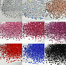 Конусные кристаллы Crystal Pixie прозрачные 1,3 мм 1440 штук, фото 2