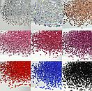 Конусные кристаллы Crystal Pixie красные 1,3 мм 1440 штук, фото 2