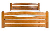 Кровать с деревянным изголовьем Каприз-3 ТеМП 80×190