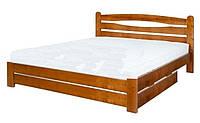 Кровать из ольхи Каприз-4 ТеМП 80×190