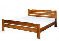 Кровать из ольхи Мери-1 ТеМП 80×190