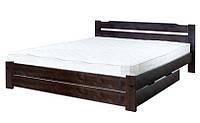 Кровать из ольхи Никко-4 ТеМП 80×190