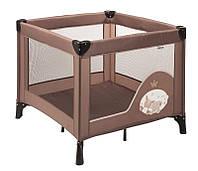 Детский манеж квадратный nattou 12667 Макс Ноа и Том коричневый 10706
