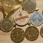 Медали на годовщину свадьбы