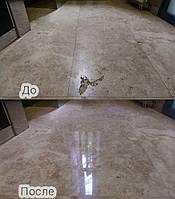 Реставрация природных и/или приобретенных трещин в мраморе