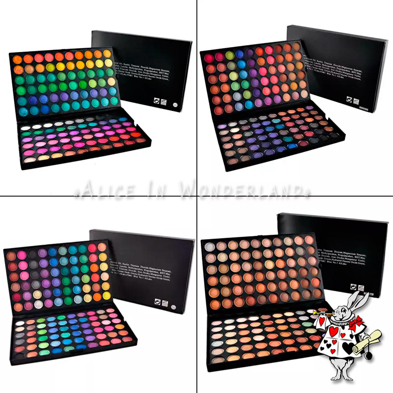 Палитра теней МАС тени 120 цветов тени 120 оттенков палетка Mac Cosmetics