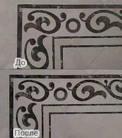 Сколы, выбоины - ремонт реставрация мраморных плит