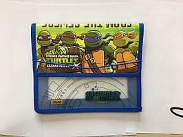 """491176 Папка для тетрадей пласт, на резинке  В5  """"Ninja Turtles"""""""