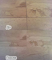 Реставрация потрескавшихся швов и/или частичного выпадения затирки швов.